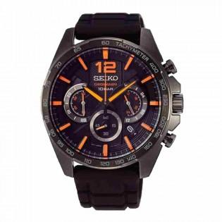 Seiko SSB351P1 Men's Neo Sport Chronograph Silicone Band Watch