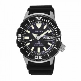 Seiko SRPD27K1 Men's Prospex MONSTER Diver Automatic Silicone Band Watch