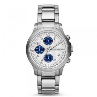 Armani Exchange AX2139 Men's Dress Chronograph Midsize Stainless Steel Watch