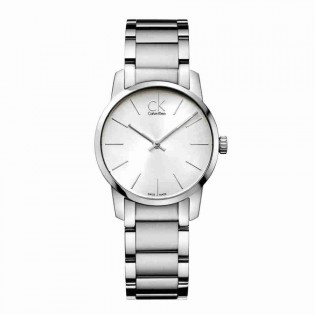 Calvin Klein CK K2G23126 Women's City 31mm Quartz Analog Stainless Steel Fashion Dress Watch