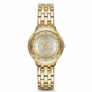 Armani Exchange AX5417 Women's Active Quartz Gold Plated Steel Watch