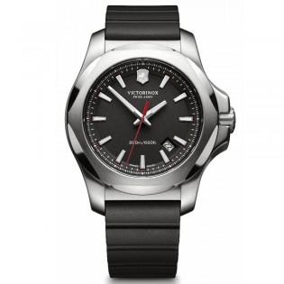 Victorinox Swiss Army 241682.1 Men's Inox Quartz Rubber Strap Black Swiss Made Watch