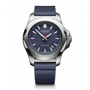 Victorinox Swiss Army 241688.1 Men's Inox Quartz Rubber Strap Blue Swiss Made Watch
