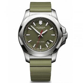 Victorinox Swiss Army 241683.1 Men's Inox Quartz Rubber Strap Army Green Swiss Made Watch