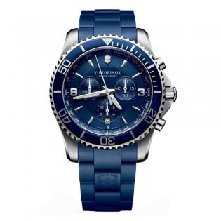 Victorinox Swiss Army 241690 Men's Marverick Chronograph Quartz Rubber Strap Swiss Made Watch