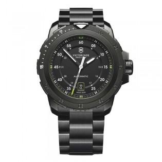 Victorinox Swiss Army 241684 Men's Alpnach Automatic Black Ion Plated Steel Swiss Made Watch