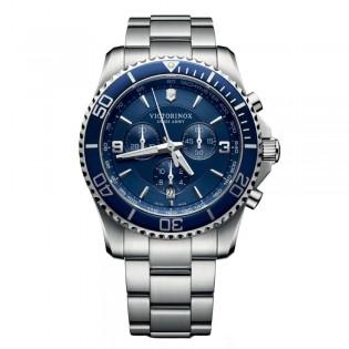 Victorinox Swiss Army 241689 Men's Marverick Chronograph Quartz Stainless Steel Swiss Made Watch