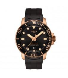 Tissot T120.407.37.051.01 Men's Seastar 1000 Powermatic 80 Automatic Diver 300 Meters Rubber Strap Watch