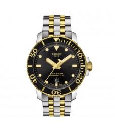Tissot T120.407.22.051.00 Men's Seastar 1000 Powermatic 80 Automatic Diver 300 Meters Two Toned Steel Watch