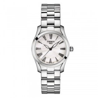 Tissot T112.210.11.113.00 Women's T-Wave Quartz Stainless Steel Dress Watch