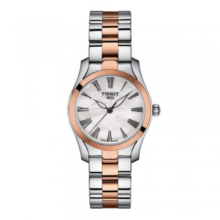 Tissot T112.210.22.113.01 Women's T-Wave Quartz Two-Toned Steel Dress Watch