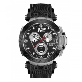 Tissot T115.417.27.057.00 Men's T-Race Jorge Lorenzo 2019 Limited Edition Chronograph Watch