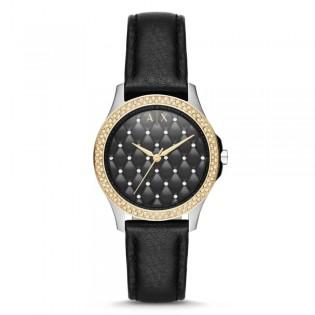 Armani Exchange AX5246 Women's Hampton Quartz Leather Watch