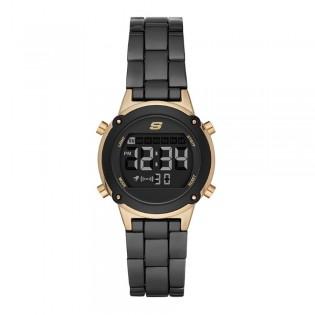 [100% ORIGINAL] Skechers SR6175 Women's Hollygle Digital Metal Bracelet Watch