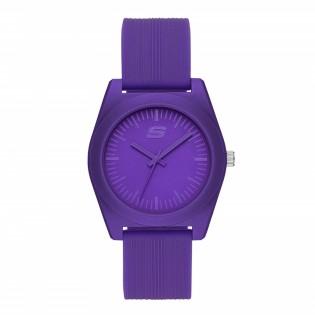 [100% ORIGINAL] Skechers SR6181 Women's Unisex Rosencrans 40mm Mid Size Quartz Silicone Strap Watch