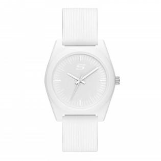 [100% ORIGINAL] Skechers SR6182 Women's Unisex Rosencrans 40mm Mid Size Quartz Silicone Strap Watch