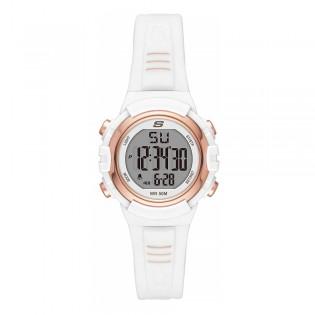[100% ORIGINAL] Skechers SR6186 Women's Truro Quartz Digital Resin Strap Watch