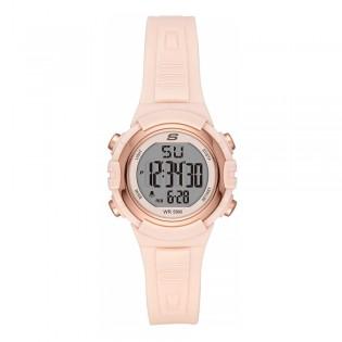 [100% ORIGINAL] Skechers SR6187 Women's Truro Quartz Digital Resin Strap Watch