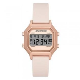 [100% ORIGINAL] Skechers SR6195 Unisex / Women's Retro Design Digital Silicone Strap Watch