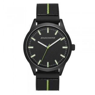[100% ORIGINAL] Skechers SR5128 Men's Analog Quartz Nylon Fabric Strap Watch