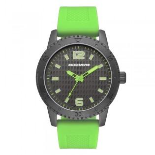 [100% ORIGINAL] Skechers SR5131 Men's Ardmore Quartz Analog Neon Orange Silicone Band Watch