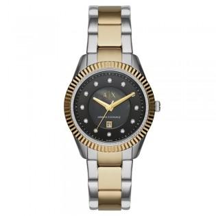 Armani Exchange AX5433 Women's Dylann 2 toned Steel Quartz Watch