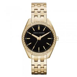 Armani Exchange AX5510 Women's Dress Gold Plated Steel Quartz Watch