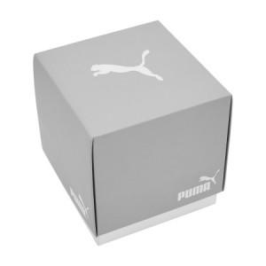 Puma 100% Original P5036 Men's Remix LCD Digital White Polyurethane Sport and Fashion Watch