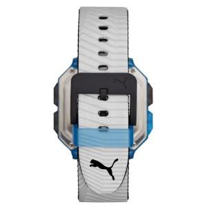 Puma 100% Original P5038 Men's Remix LCD Digital Two-Tone Polyurethane Sport and Fashion Watch