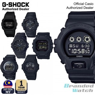 [OFFICIAL CASIO WARRANTY] Casio G-Shock Full Black out Series GX56BB King DW5900BB DW6900BB G001BB DW5600BB Digital Watch (watch for man / jam tangan lelaki / casio watch for men / casio watch) blackout GX-56BB-1 GX56BB1 GX56 DW-6900BB-1 DW5600BB-1