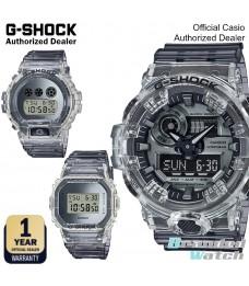 [OFFICIAL CASIO WARRANTY] Casio G-Shock SK Skeleton Jelly Transparent Digital Resin Fashion Sport Watch (watch for man / jam tangan lelaki / casio watch for men / g shock original / jam ori) GA700SK GA-700SK-1 DW5600SK-1 DW-5600SK DW-6900SK DW6900SK-1
