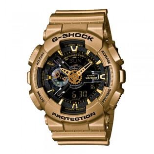 [OFFICIAL CASIO WARRANTY] Casio G-Shock GA110GD-9B Digital Analog Special Color Matellic Gold Resin Watch (watch for man / jam tangan lelaki / casio watch for men / casio watch / watch for men / jam digital / g shock original) GA 110GD 9 GA-110GD-9B