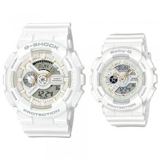 [OFFICIAL CASIO WARRANTY] Casio G-Shock Baby-G LOV-17-7A Couple Watch Lover Limited Edition (watch for man / jam tangan lelaki / casio watch for men / casio watch / jam digital / g shock original / jam ori) LOV17A7A GA 110 BA 110 GA110 BA110 LOV17