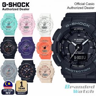 [OFFICIAL CASIO WARRANTY] Casio Baby-G GMA-S130 GMAS130 Step Tracker Resin Watch (watch for woman / jam tangan perempuan / casio watch for woman / casio watch / lady watch / watch for woman / jam digital / g shock original / jam ori) GMAS130-1 GMAS130-2