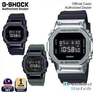[OFFICIAL CASIO WARRANTY] Casio G-Shock Origin GM5600 GM-5600 Original Steel Case Resin Band Digital Watch (watch for man / jam tangan lelaki / casio watch for men / casio watch / men watch / g shock original / jam ori) GM5600-1 GM5600B 1 GM5600B 3