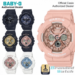 [OFFICIAL CASIO WARRANTY] Casio Baby-G BA 130 BA-130 Watch (watch for woman / jam tangan perempuan / casio watch for woman / lady watch / watch for woman / jam ori) BA130-1A BA130-1A2 BA-130-1A3 BA-130-1A4 BA-130-4A BA130-7A1 BA-130-7A2 BA130 7A