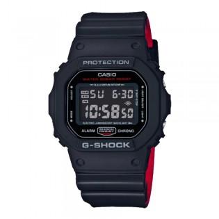 [OFFICIAL CASIO WARRANTY] Casio G-Shock DW5600HR-1 DW-5600HR-1 Black X Red Heritage Vampire Resin Watch (watch for man / jam tangan lelaki / casio watch for men / casio watch / men watch / watch for men / jam digital / g shock original) DW-5600HR-1D