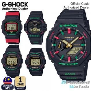 [OFFICIAL CASIO WARRANTY] Casio G-Shock Christmas Color DW5600THC-1 DW5700TH-1 DW5900TH-1 BGD570TH-1 Digital Resin Watch (watch for man / jam tangan lelaki / casio watch for men / casio watch / men watch / jam digital / g shock original / jam ori)