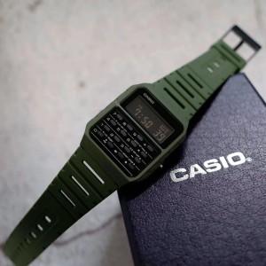 CASIO CA-53WF-1B CA-53WF 100% ORIGINAL MAN VINTAGE CALCULATOR DATA BANK WATCH JAM ORI CASIO JAM CASIO LELAKI CASIO ORI WATCH FOR MAN CALCULATOR WATCH VINTAGE WATCH