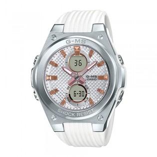 Casio Baby-G Steel MSG-C100-7A Women's Digital Analog Resin Strap Watch (watch for Woman / jam tangan Wanita / Perempuan / casio watch for Woman / casio watch / Lady watch / watch for Woman / jam digital) MSG-C100-7 MSGC100-7