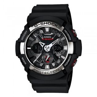 Casio G-Shock GA-200-1A Men's Digital Analog Black Resin Watch (watch for man / jam tangan lelaki / casio watch for men / casio watch / men watch / watch for men / jam digital) GA-200-1 GA200-1