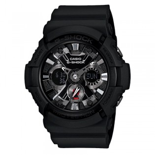 Casio G-Shock GA-201-1A Men's Digital Analog Black Resin Watch (watch for man / jam tangan lelaki / casio watch for men / casio watch / men watch / watch for men / jam digital) GA-201-1 GA201-11