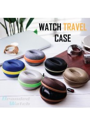 Watch Sleeve Watch Travel Case | Single Watch Box Zipper for Proper Watch 50mm