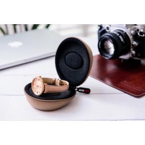 Watch Sleeve Watch Travel Case   Single Watch Box Zipper for Proper Watch 50mm