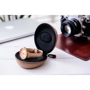 Watch Sleeve Watch Travel Case | Single Watch Box Zipper for Proper Watch 50mm