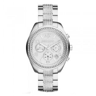Armani Exchange AX5515 Women's Sarena Chronograph Crystal Steel Watch