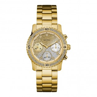 [100% Original] Guess W0774L5 Women's Multifunction Quartz Stainless Steel Strap Watch