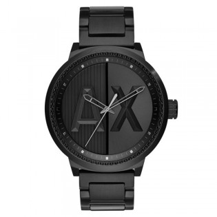 Armani Exchange AX1365 Men's ATLC Black Ion Plated Steel Watch