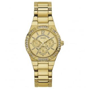 [100% Original] Guess W0845L2 Women's Multifunction Quartz Gold Stainless Steel Strap Watch
