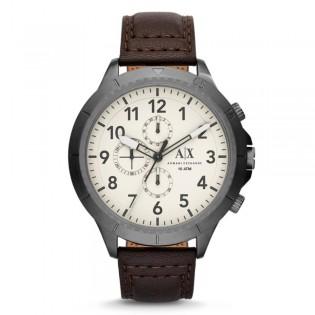 Armani Exchange AX1757 Men's Aeroracer Chronograph Leather Strap Watch